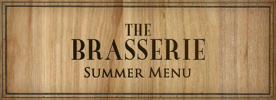 Brasserie Summer Menu